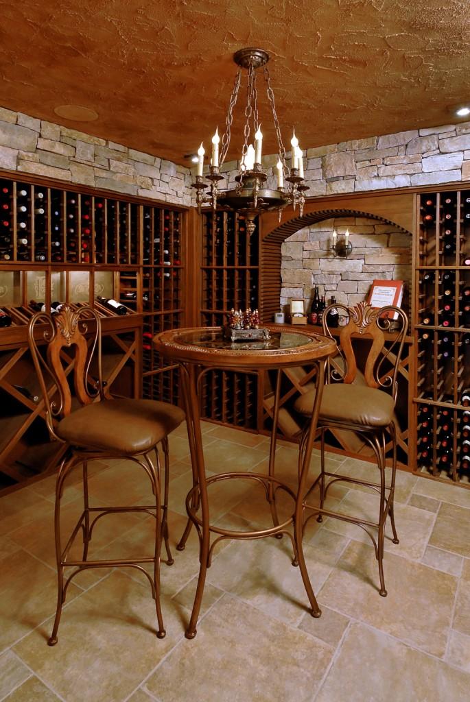 Arlington VA Renovation Wine Tasting Room