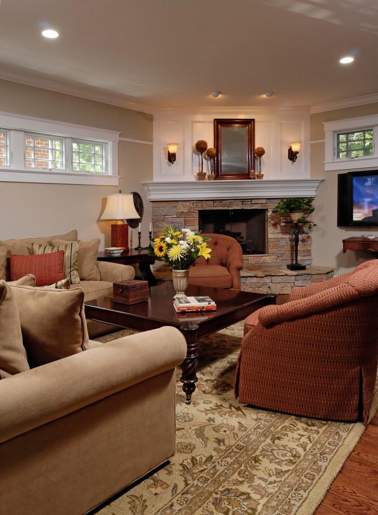 Arlington VA Renovation Family Room