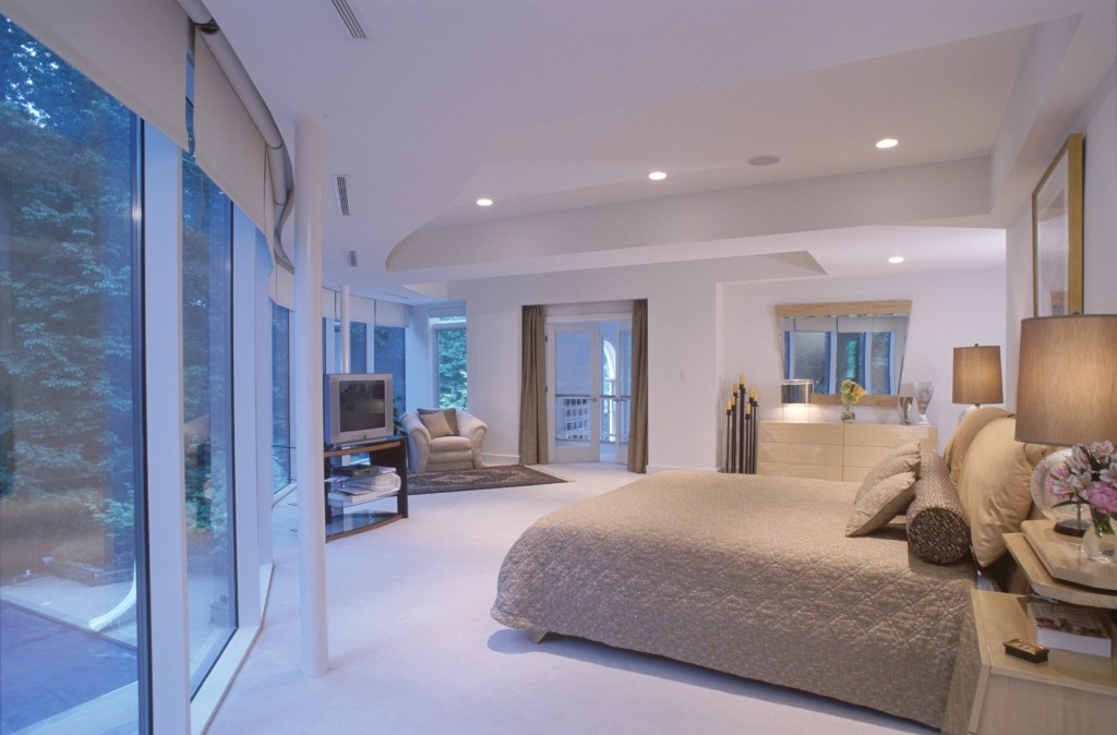Great Falls VA Contemporary Renovation Addition Master Bedroom