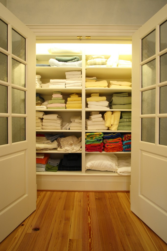 Leesburg VA Renovation Linen Closet
