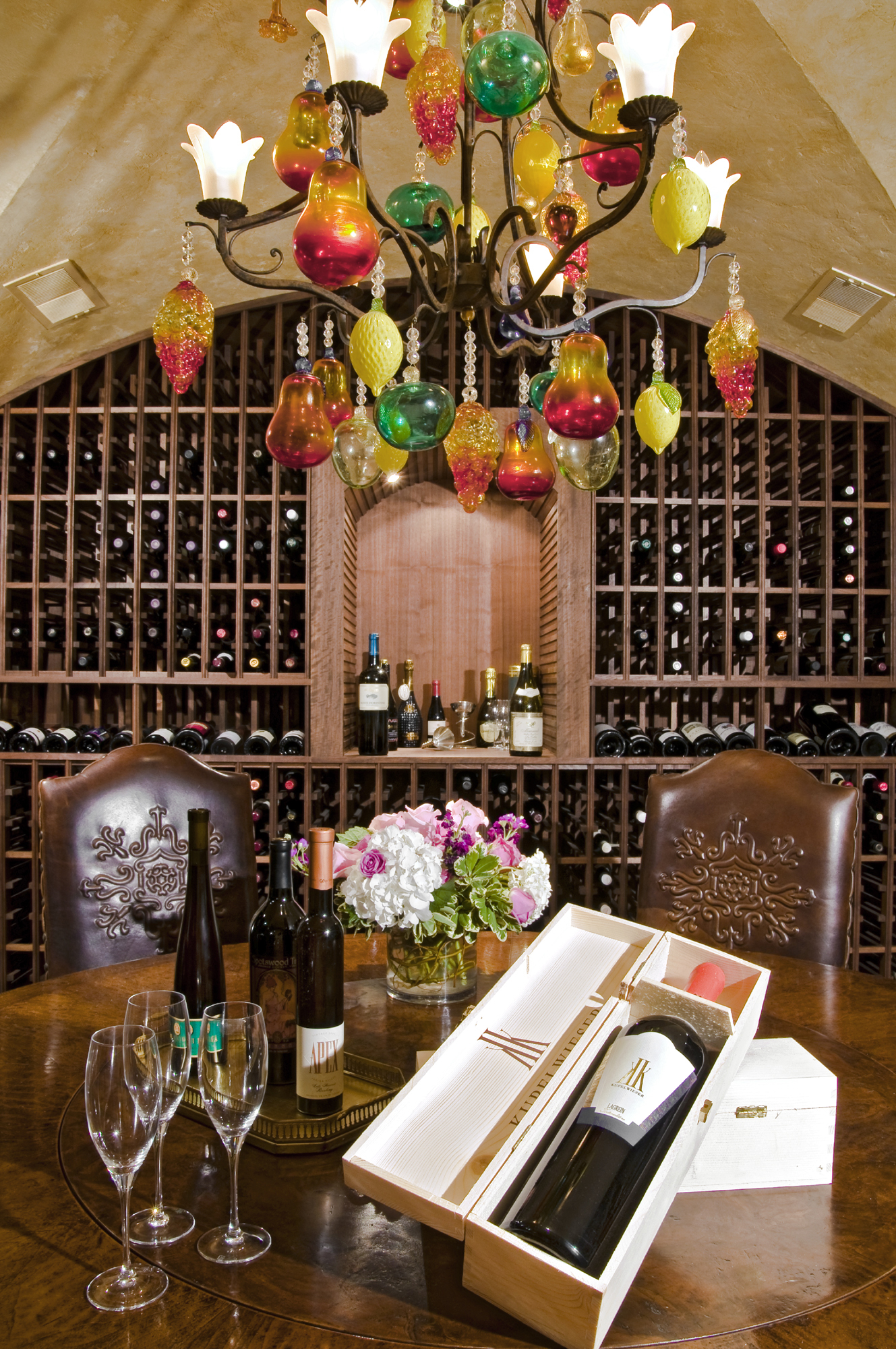 Potomac MD Wine Tasting Room & French Country Wine Cellar in Potomac Maryland | BOWA