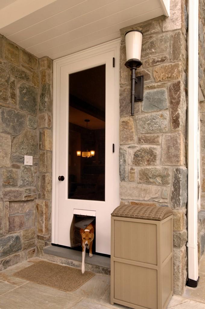 Potomac MD Renovation Doggy Door