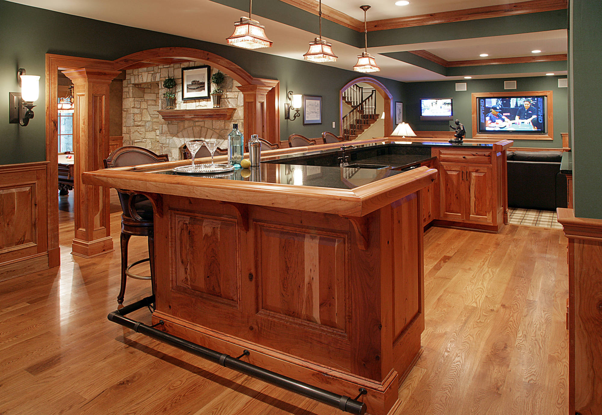 Bar & Wine Rooms Photo Gallery | BOWA | Design Build Renovations