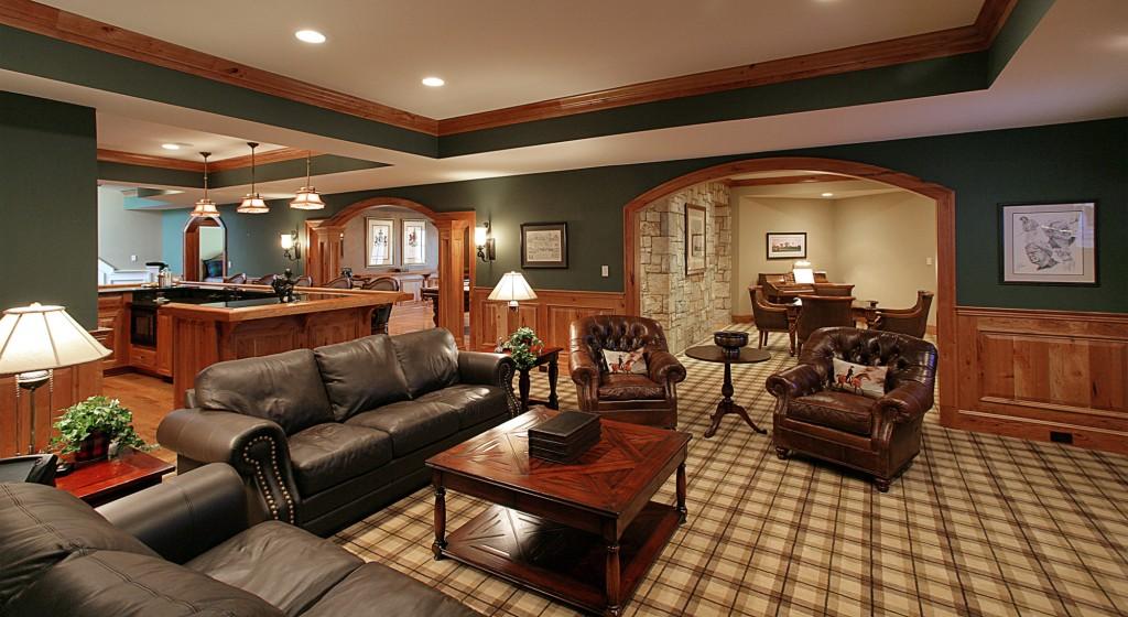 Great Falls VA Traditional Lounge