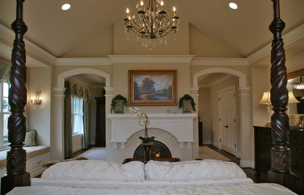 Great Falls VA Traditional Master Suite Bedroom