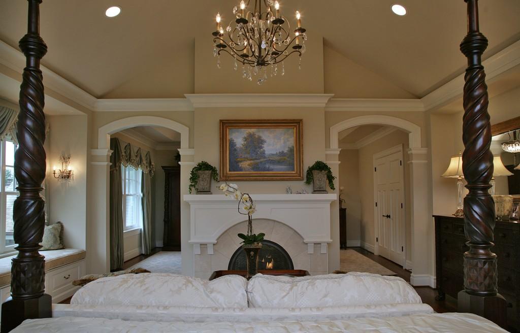Great Falls VA Traditional Master Suite Bedroom