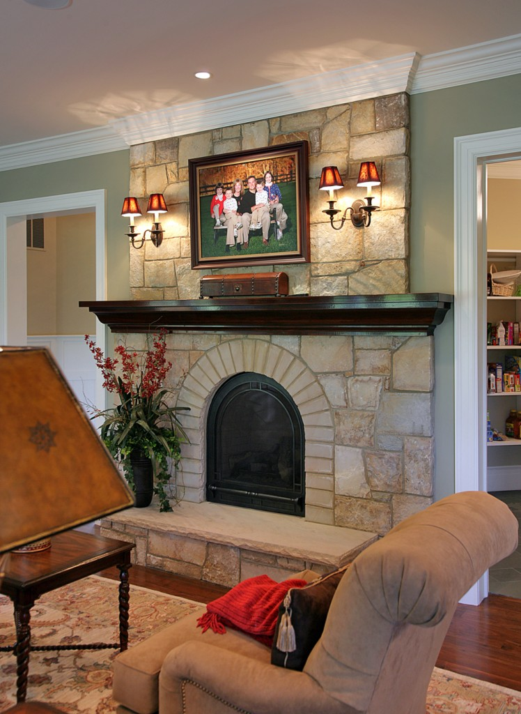 Great Falls VA Traditional Sitting Room
