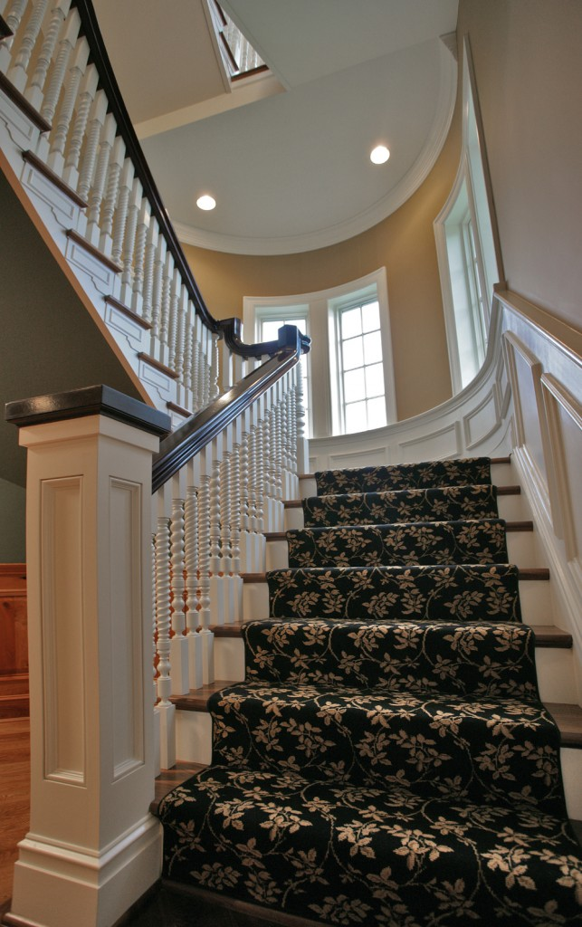 Great Falls VA Traditional Staircase