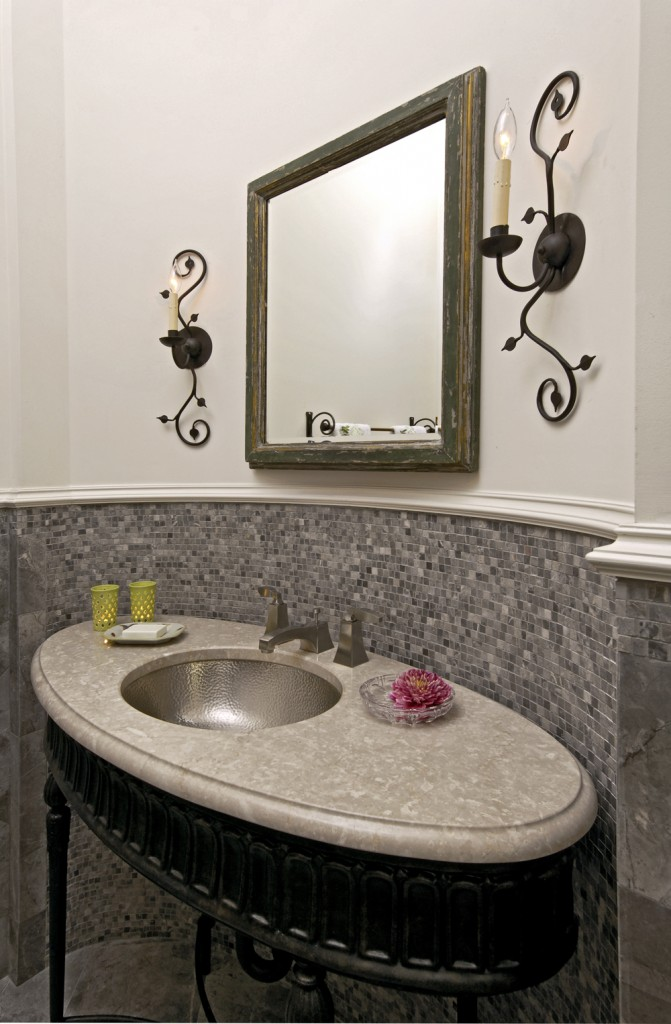 Arlington VA Traditional Powder Room