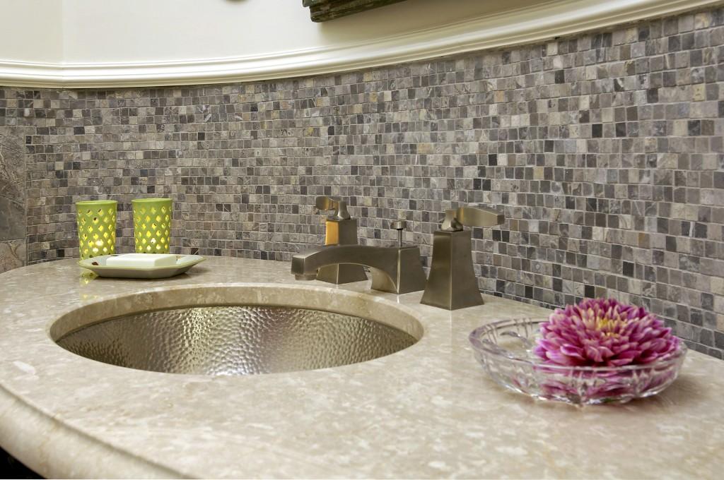 Arlington VA Traditional Powder Room Sink