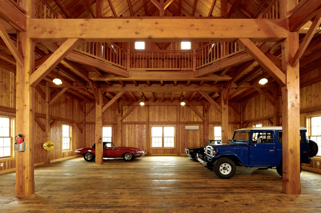 Timberframe Car Barn