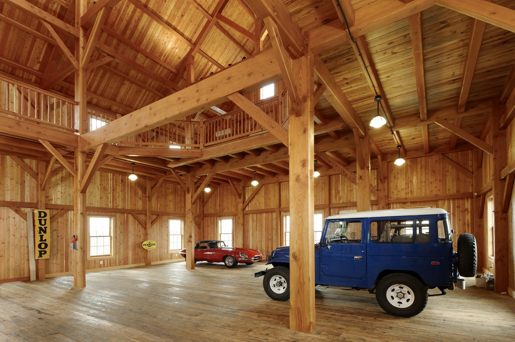 Timberframe Car Barn