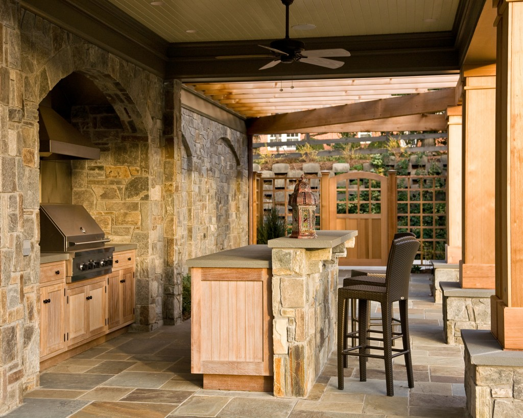 Vienna VA Outdoor Kitchen