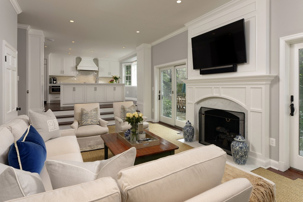 Bethesda MD Traditional Family Room