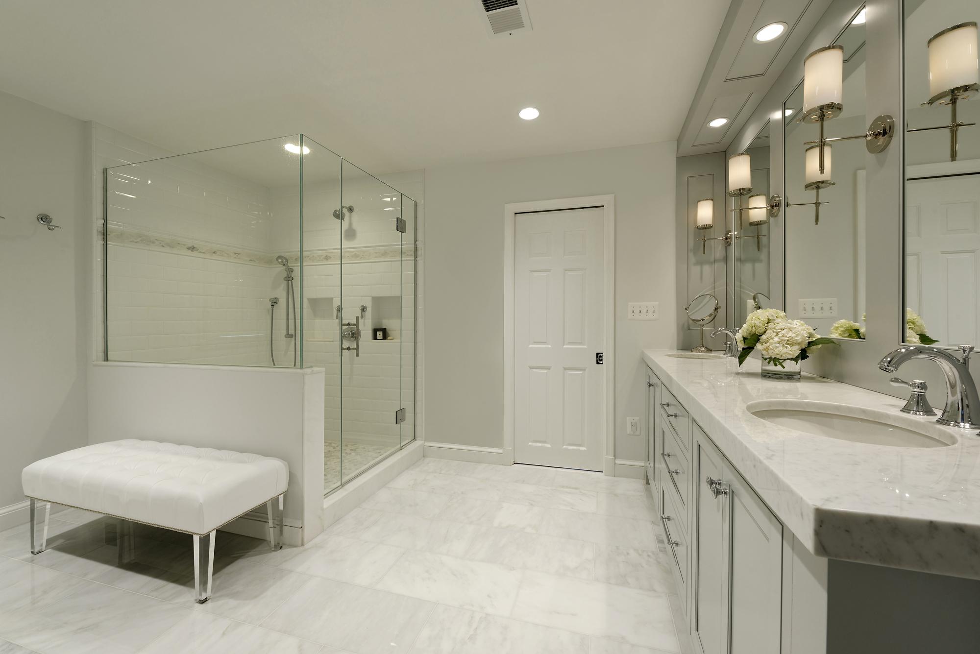 office bethesda md traditional master bathroom - Bathroom Remodeling Bethesda Md