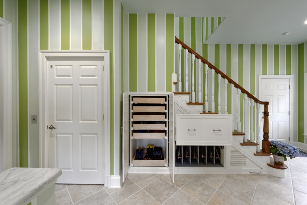 McLean VA Traditional Under Stair Storage