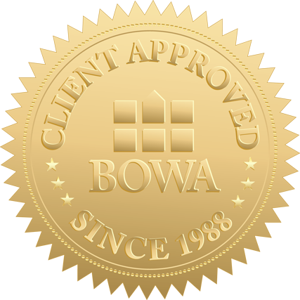 BOWA Client Satisfaction Seal