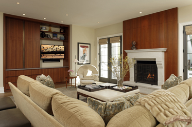 Chevy Chase MD Renovation Family Room
