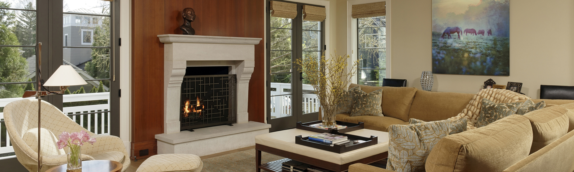 Chevy Chase MD Family Room