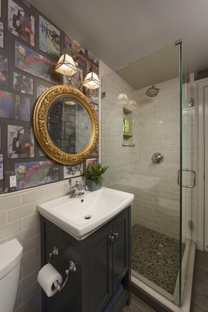 Washington DC Lower Level Bathroom