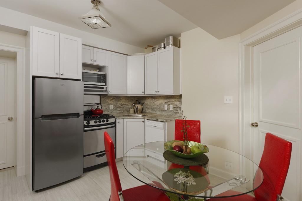 Washington DC Nanny Suite Kitchen