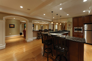 Lower-Level Renovation in Ashburn, VA