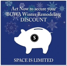 Winter Remodeling Discount