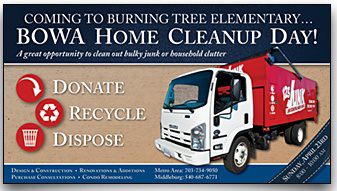 BOWA Home Cleanup Day