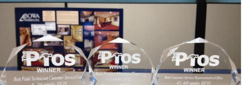 Pros Award Winners
