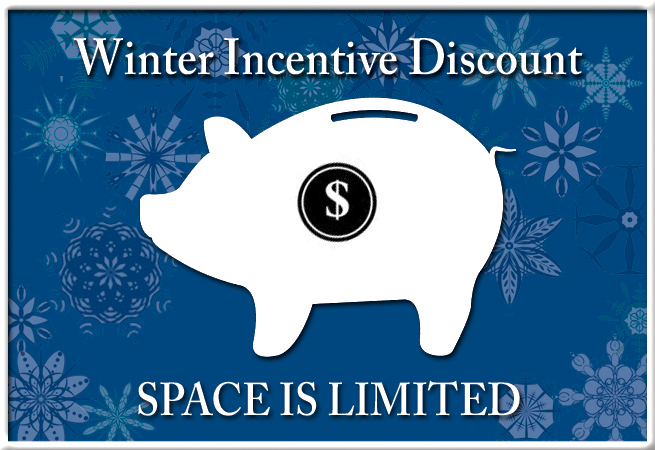 Winter Incentive Discount