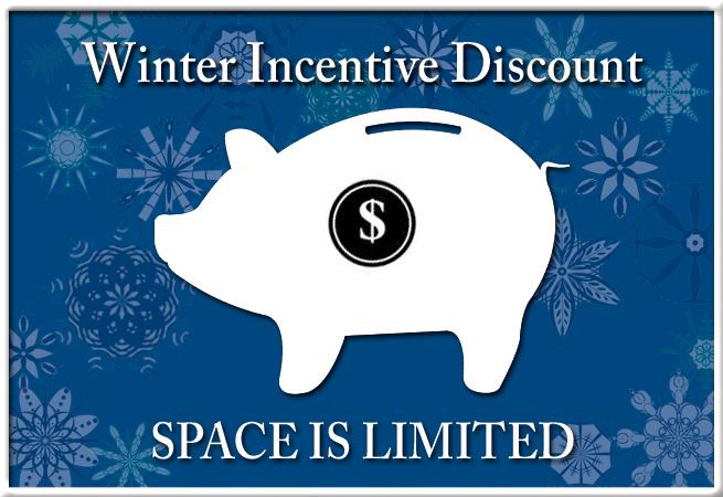 Winter Incentive Discount