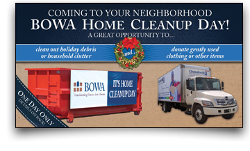 Holiday Home Cleanup Day