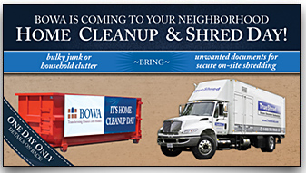 BOWA Home Cleanup & Shred Day