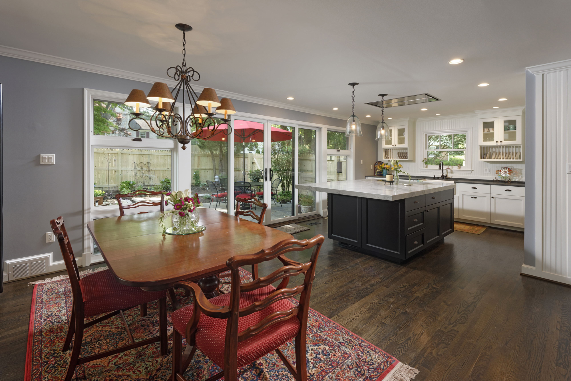 1960's Era Ranch House Transformation in McLean, Virginia | BOWA on ranch homes with landscaping, ranch homes with windows, split level homes with floor plans, craftsman homes with floor plans,