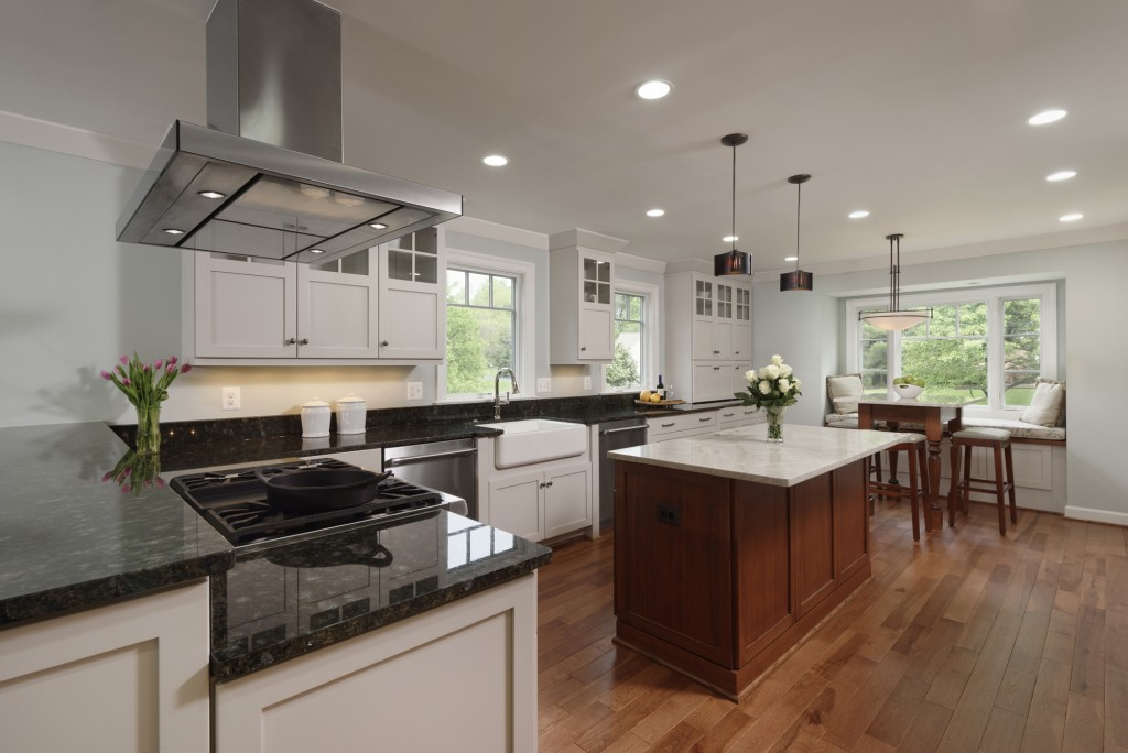 Vienna VA Indoor-Outdoor Renovation Kitchen