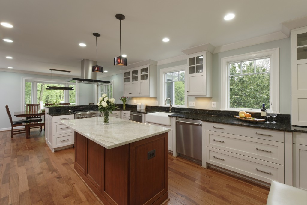 Vienna VA Indoor-Outdoor Renovation Kitchen
