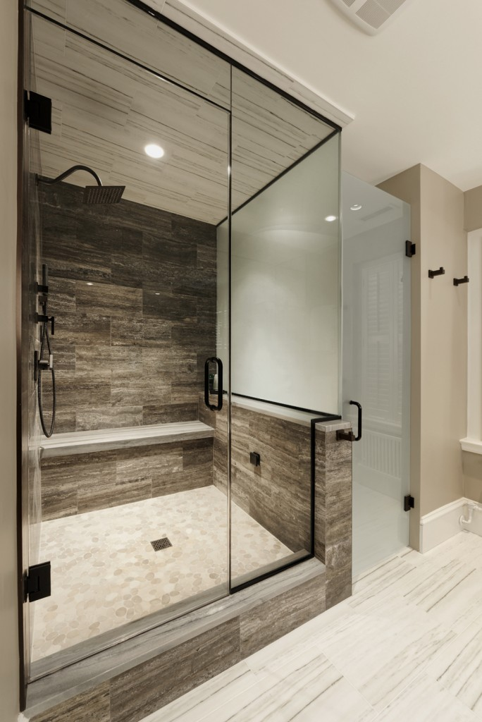 Washington DC Whole Condo Renovation Shower
