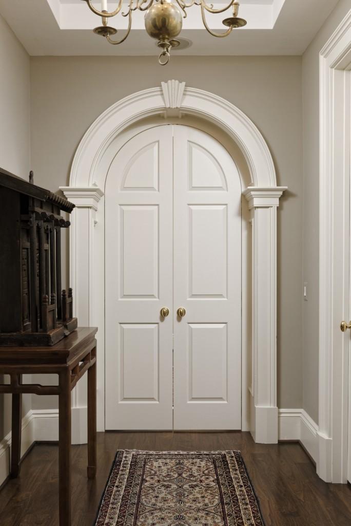Arlington VA Whole Condo Renovation Arched Doorway