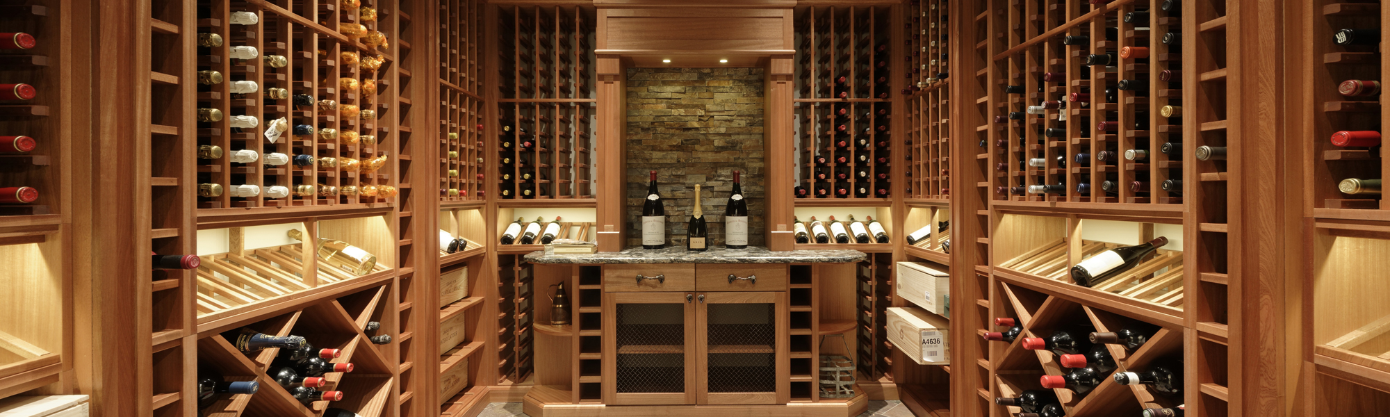 McLean Redesign with Wine Cellar