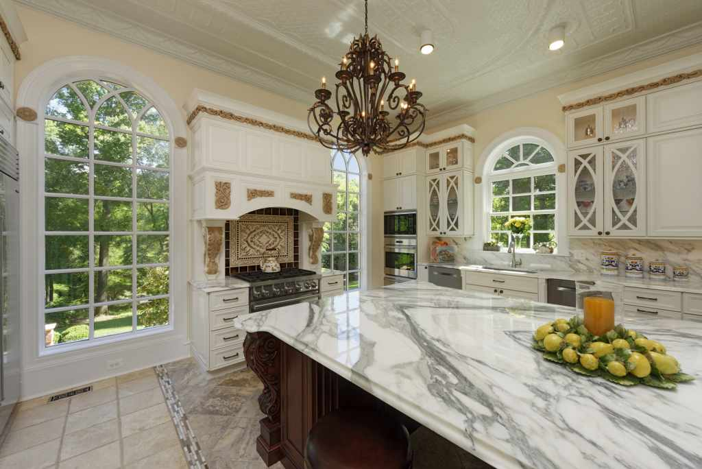 BOWA Design Build Tuscan Villa Inspired Kitchen Renovation