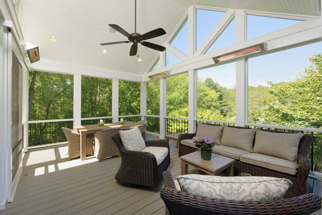 BOWA Design Build Screened In Porch and Deck in Vienna, VA
