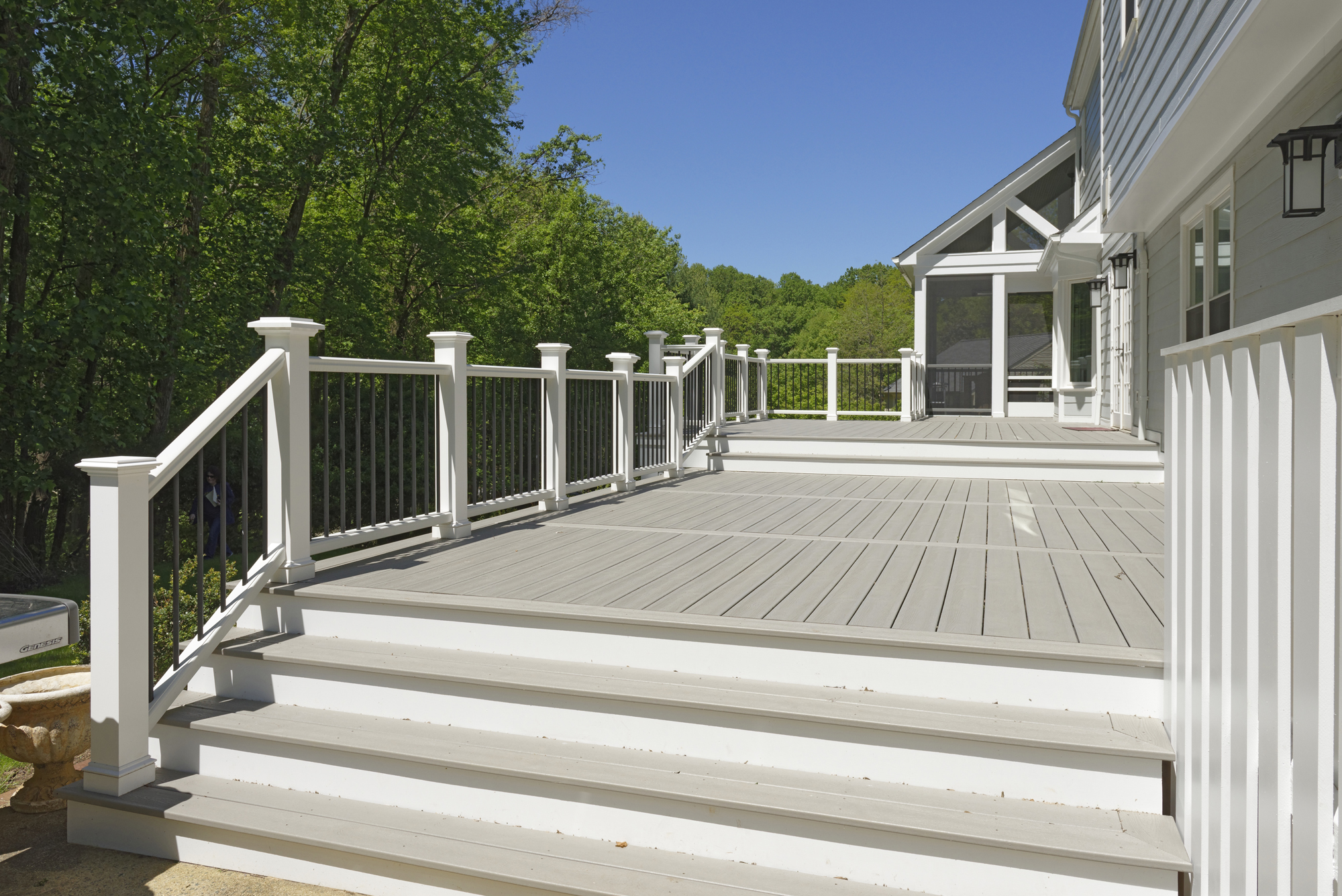 Outdoor Deck Renovations : First floor and outdoor living transformation in vienna