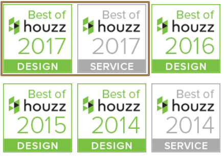 BOWA Best of Houzz 4 years in a Row