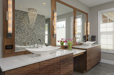 Master suite renovation in Great Falls, VA