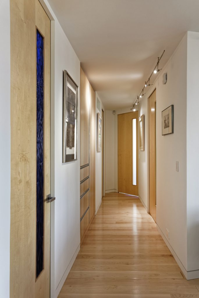 BOWA Design Build Contemporary Condominium Renovation in DC