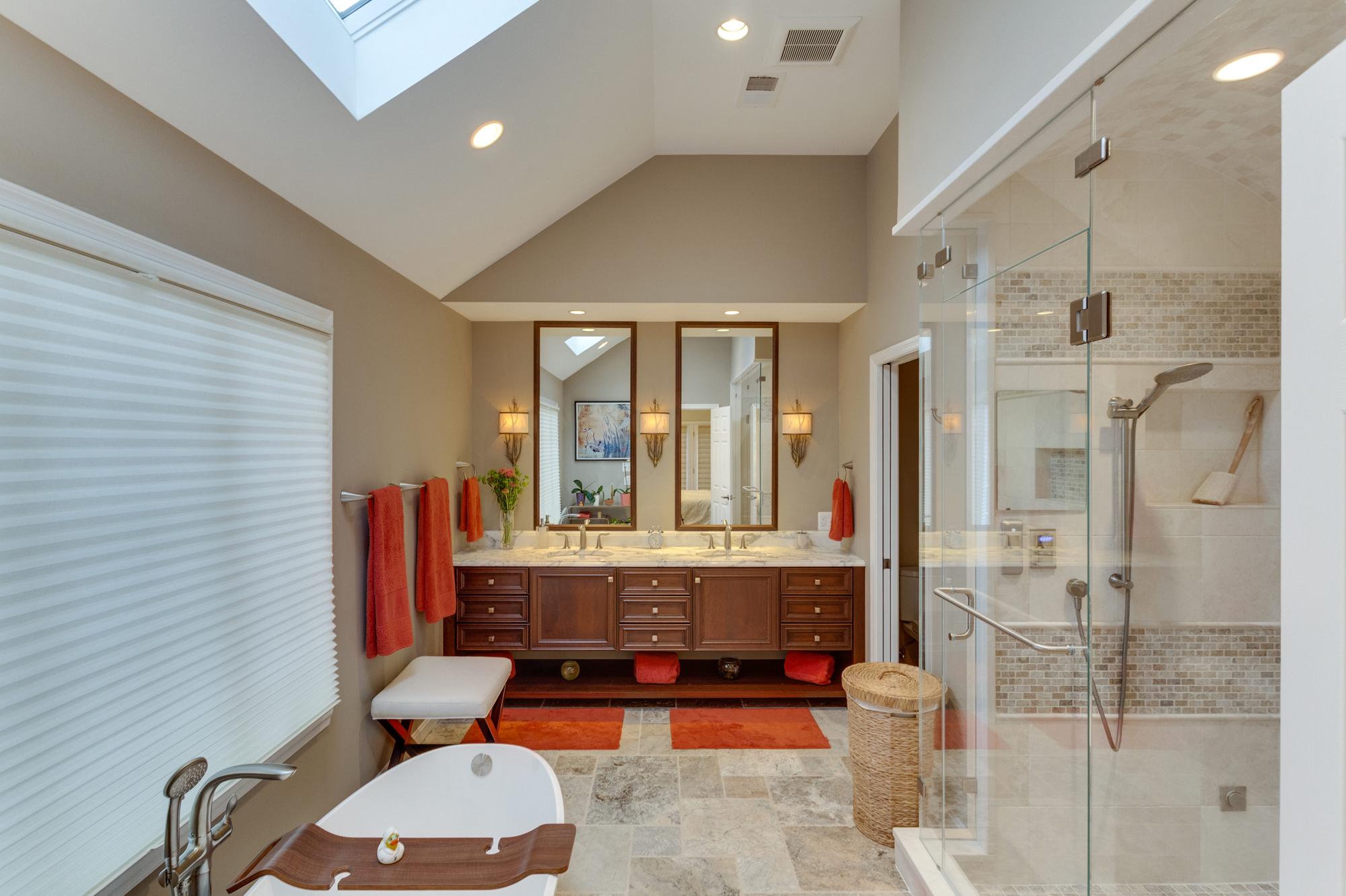 universal design master suite renovation in mclean, va | bowa