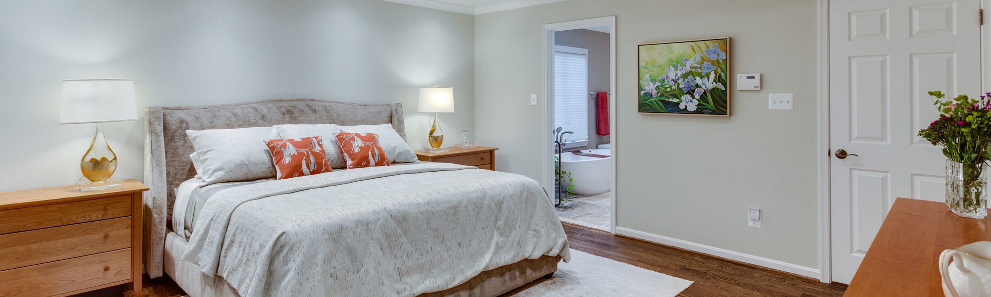 Universal Design Master Suite Renovation in McLean VA