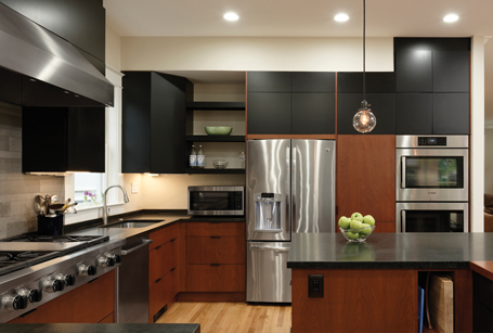 AFTER - BOWA Kosher Kitchen Renovation in Cleveland Park DC