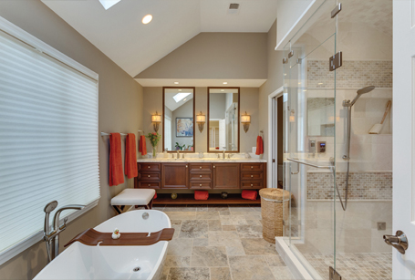 AFTER - BOWA Universal Design Master Suite Renovation in Virginia