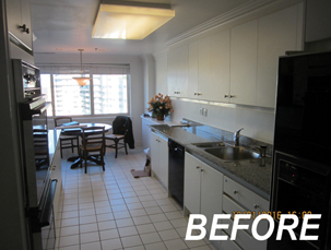 BEFORE - BOWA Condo Renovation in Chevy Chase